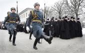 Представители Санкт-Петербургской епархии приняли участие в памятных мероприятиях по случаю 71-й годовщины снятия блокады Ленинграда