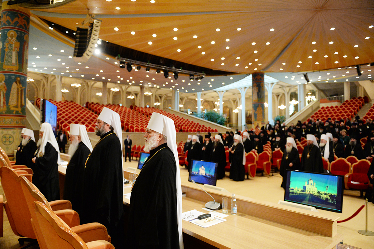 Второй день работы пленума Межсоборного Присутствия Русской Православной Церкви
