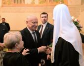 Прием по случаю шестой годовщины интронизации Святейшего Патриарха Кирилла