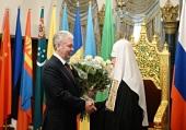 Мэр Москвы поздравил Предстоятеля Русской Церкви с шестой годовщиной интронизации