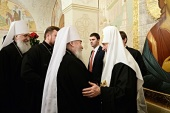 Поздравление Святейшего Патриарха Кирилла с шестой годовщиной интронизации