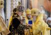 Литургия в Храме Христа Спасителя в шестую годовщину интронизации Святейшего Патриарха Кирилла