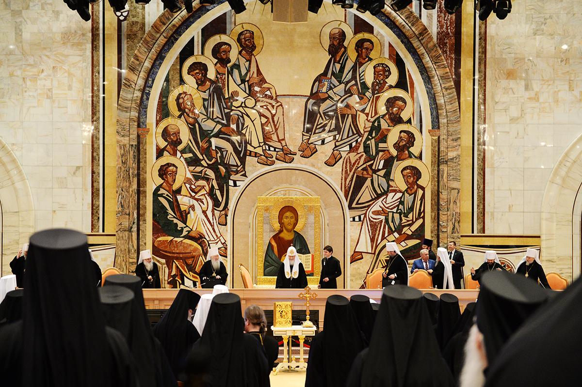 Архиерейское Совещание Русской Православной Церкви. Второй день работы (3 февраля 2015 года)»