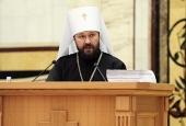 На Архиерейском Совещании представлен отчет о ходе работы над Катехизисом Русской Православной Церкви