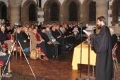 Митрополит Волоколамский Иларион прочитал лекцию о межхристианском сотрудничестве в британских университетах