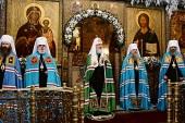 Слово Святейшего Патриарха Кирилла в праздник Сретения Господня после Литургии в Сретенском ставропигиальном монастыре