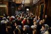 Патриаршее служение в праздник Сретения Господня в Сретенском ставропигиальном монастыре. Хиротония архимандрита Фотия (Евтихеева) во епископа Югорского и Няганского
