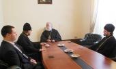 В Каире прошло заседание Рабочей группы по подготовке диалога между Русской Православной Церковью и Коптской Церковью