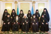 В столице Казахстана состоялось первое в 2015 году заседание Синода Казахстанского митрополичьего округа