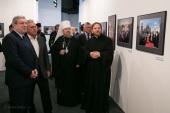 В Красноярске открылась фотовыставка «Патриарх. Служение Богу, Церкви, людям»