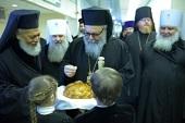 Патриарх Великой Антиохии и всего Востока Иоанн X прибыл в Москву