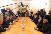 Состоялась встреча Предстоятеля Антиохийской Православной Церкви с министром иностранных дел РФ С.В. Лавровым