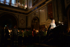 Патриаршее служение в понедельник первой седмицы Великого поста в Храме Христа Спасителя. Повечерие с чтением Великого канона прп. Андрея Критского