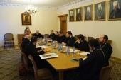 В ОВЦС состоялось заседание Рабочей группы по культурному сотрудничеству между Русской Православной Церковью и Римско-Католической Церковью