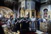 Патриаршее служение в среду первой седмицы Великого поста в Богоявленском кафедральном соборе г. Москвы. Литургия Преждеосвященных Даров