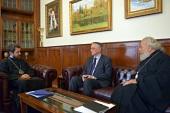 Митрополит Волоколамский Иларион встретился с членом Парламента Ирака