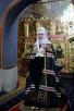 Патриаршее служение в канун субботы 1-й седмицы Великого поста в Новоспасском ставропигиальном монастыре