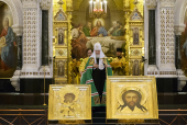 Проповедь Святейшего Патриарха Кирилла в праздник Торжества Православия в Храме Христа Спасителя