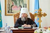 «Всякий мой день начинается и завершается молитвой о Казахстане». Интервью митрополита Астанайского и Казахстанского Александра