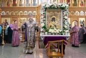 Состоялось принесение в Казахстан чудотворной Феодоровской иконы Божией Матери