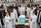 В Карелии простились с почившим митрополитом Петрозаводским и Карельским Мануилом