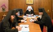 Состоялось первое заседание Архиерейского совета Минской митрополии