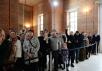 Посещение Святейшим Патриархом Кириллом гимназии святителя Василия Великого