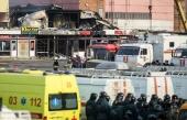 Священнослужители Татарстанской митрополии молятся о пострадавших в результате пожара в торговом центре в Казани