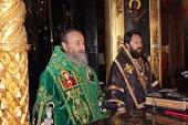 Митрополит Киевский и всея Украины Онуфрий совершил Литургию в Русском Пантелеимоновом монастыре на Афоне