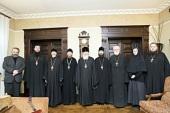 В Сретенском ставропигиальном монастыре состоялось очередное заседание комиссии Межсоборного присутствия по вопросам церковного права