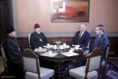 Предстоятель Латвийской Православной Церкви встретился с президентом Латвийской Республики