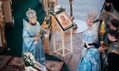 Митрополит Волоколамский Иларион совершил Литургию в Казанско-Богородицком монастыре Казани