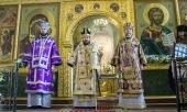 В Неделю 5-ю Великого поста митрополит Волоколамский Иларион совершил Литургию в Благовещенском соборе Казанского кремля