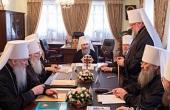 В Киеве проходит очередное заседание Священного Синода Украинской Православной Церкви