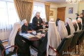 Состоялось заседание Священного Синода Украинской Православной Церкви