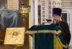 Патриаршее служение в канун праздника Входа Господня в Иерусалим в Храме Христа Спасителя