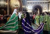 Слово Святейшего Патриарха Кирилла при вручении архиерейского жезла Преосвященному Порфирию (Преднюку), епископу Лидскому и Сморгонскому