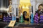 Проповедь Святейшего Патриарха Кирилла в праздник Входа Господня в Иерусалим после Литургии в Храме Христа Спасителя