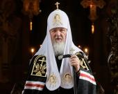 Проповедь Святейшего Патриарха Кирилла в Великий Понедельник после Литургии в Высоко-Петровском монастыре
