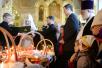 Традиционное посещение Святейшим Патриархом храмов Москвы в Великую субботу