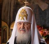Обращение Святейшего Патриарха Кирилла к телезрителям в прямом эфире перед началом трансляции Пасхального богослужения