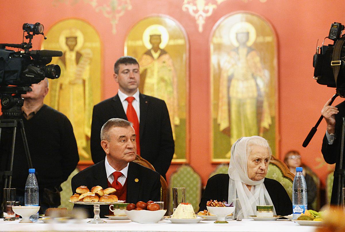 Встреча Святейшего Патриарха Кирилла с ветеранами Великой Отечественной войны