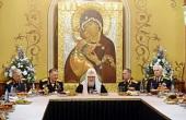 Святейший Патриарх Кирилл встретился с ветеранами Великой Отечественной войны