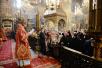 Патриаршее служение в понедельник Светлой седмицы в Успенском соборе Московского Кремля