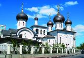Патриаршее служение в Неделю 2-ю по Пасхе в храме прп. Сергия Радонежского на Рязанке г. Москвы