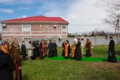 Глава Митрополичьего округа в Казахстане совершил закладку храма во имя равноапостольного князя Владимира в Алма-Ате