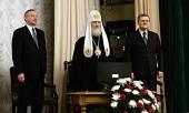 Святейший Патриарх Кирилл возглавил заседание, посвященное 10-летию Попечительского совета Троице-Сергиевой лавры и Московской духовной академии