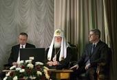 Заседание по случаю 10-летия Попечительского совета Троице-Сергиевой лавры и Московской духовной академии
