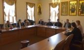 Отдел внешних церковных связей посетили представители протестантских церквей Франции