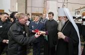 В следственном изоляторе № 1 «Кресты» в Петербурге прошел первый пасхальный фестиваль для заключенных